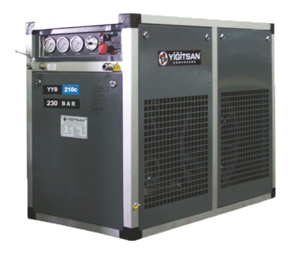 OMEGA Kompresör - Yiğitsan Solunum Havası Serisi (0-330 Bar) Kompresör