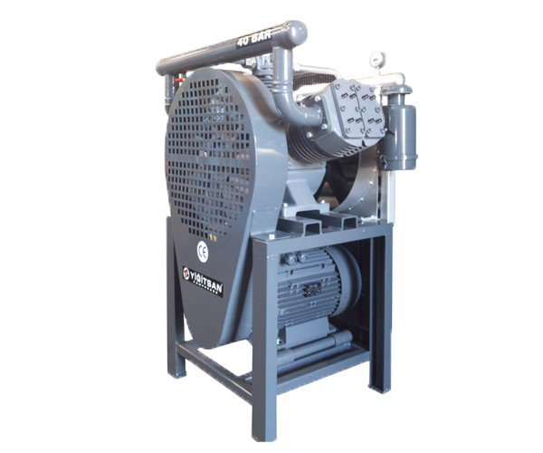 OMEGA Kompresör - Yiğitsan Yüksek Basınç Pistonlu (0-40 Bar) Kompresör
