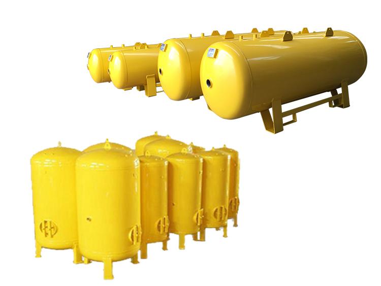 OMEGA Kompresör - Omega Hava Tankları